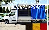 Įmonių ir gyventojų turto perkraustymas (perkraustymo paslaugos) Lietuva / Belgija  / Lietuva / . Baldų pervežimas. Transporto paslaugos. Pervežimo, p