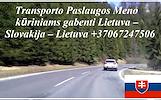 Įmonių ir gyventojų turto perkraustymas (perkraustymo paslaugos) Lietuva / Slovakija / Lietuva / . Baldų pervežimas. Transporto paslaugos. Pervežimo,
