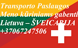Įmonių ir gyventojų turto perkraustymas (perkraustymo paslaugos) Lietuva / Šveicarija  / Lietuva / . Baldų pervežimas. Transporto paslaugos. Pervežimo