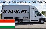 Įmonių ir gyventojų turto perkraustymas (perkraustymo paslaugos) Lietuva / Vengrija  / Lietuva / . Baldų pervežimas. Transporto paslaugos. Pervežimo,