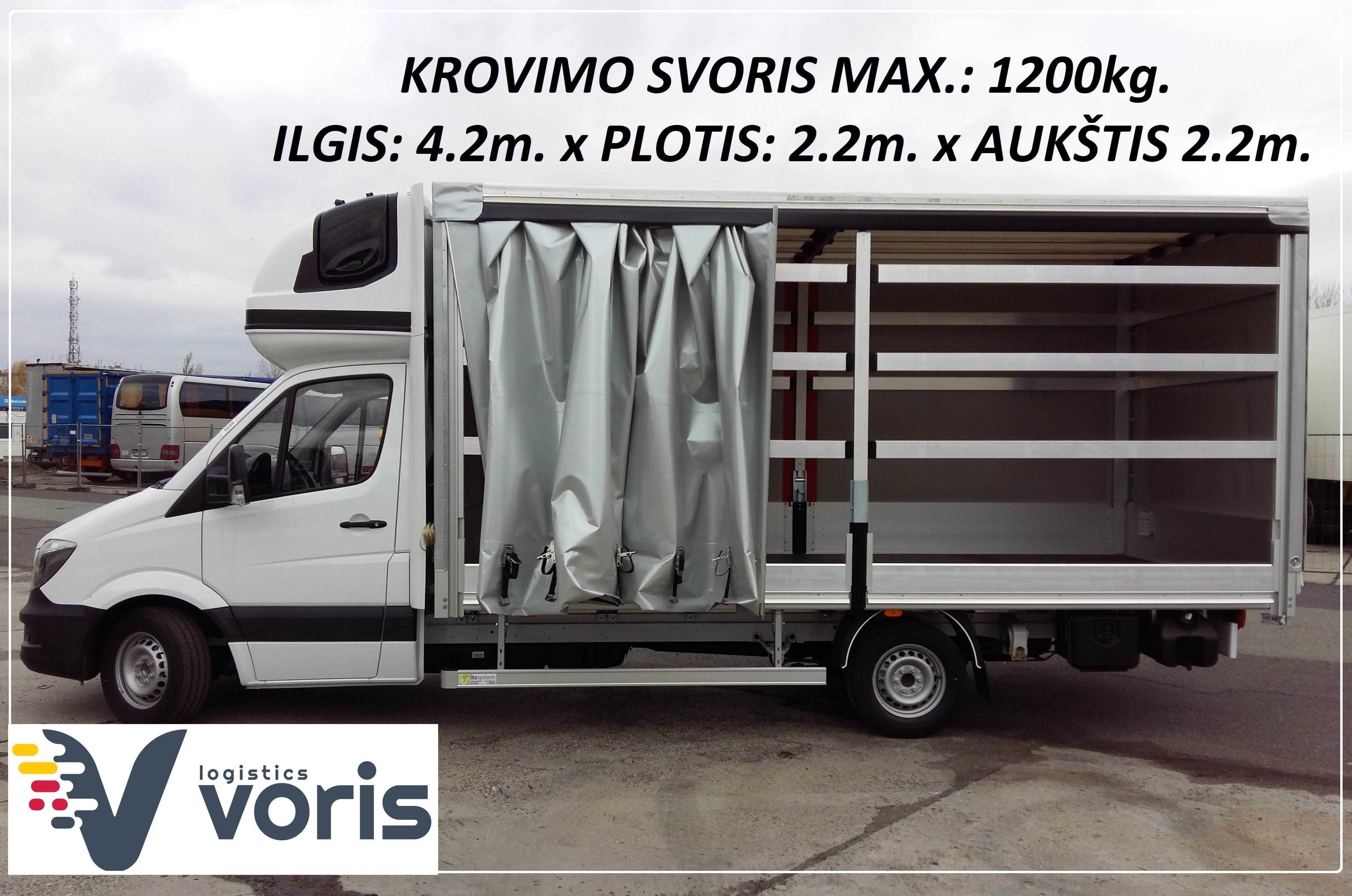 """Iškilus skubaus krovinio pervežimo būtinybei, UAB """"VORIS"""" per 24–48 val. gali pristatyti nedidelius (iki 1,2 t) krovinius Lietuvoje ir Europoje. EL.PA"""