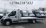 Jūsų patogumui teikiama automobilinių priekabų nuomos paslauga ( Platformu, traliuku , verciamu vienasiu priekabu, moto priekabu) ALYTUS +37062387452