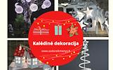 Kalėdinės vidaus ir lauko dekoracijos www.sodoreikmenys.lt
