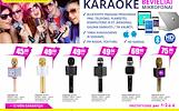 Karaoke bevieliai mikrofonai