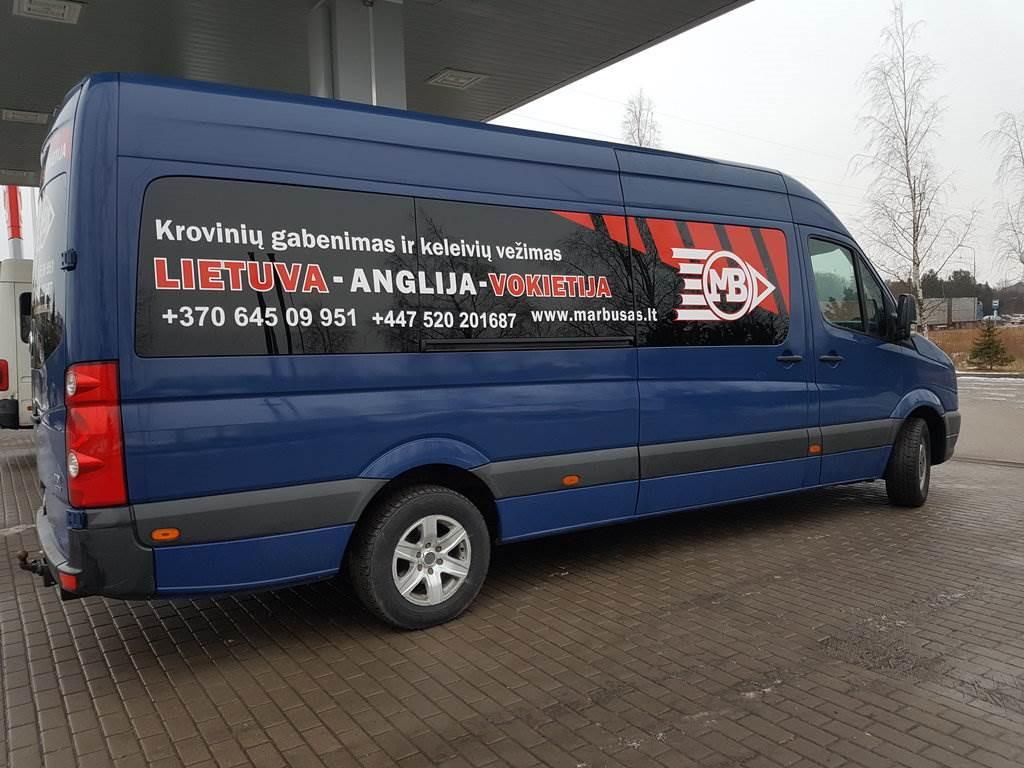 Kiekvieną dieną vykstame maršrutu Anglija-Vokietija-Olandija-Belgija-Prancuzija-Škotija