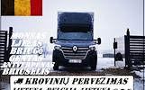 KROVINIAI -- KROVINIŲ PERVEŽIMAS / GABENIMAS / PERKRAUSTYMAS  Lietuva -- Belgija -- Lietuva  Galime parvežti jūsų krovinius, baldus, buitine technika,