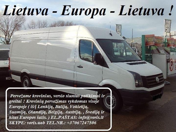 Kroviniai / Siuntos / Perkraustymas ! PASVALYS Skubių (express) krovinių pervežimai / gabenimai. Siuntų pervežimas. ( Lietuva / Vokietija / Italija /