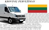 KROVINIŲ GABENIMAS : į/iš Lietuvą, Lietuvoje