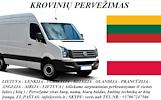 KROVINIŲ GABENIMAS : į Lenkiją, iš Lenkijos