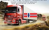 KROVINIŲ GABENIMAS : į Norvegiją, iš Norvegijos