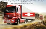 KROVINIŲ GABENIMAS : į Šveicariją, iš Šveicarijos ·        Pilnų / Dalinių krovinių pervežimas  į / iš Šveicarijos.  ( Negabaritinių krovinių pervežim