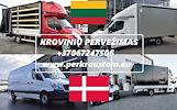 Krovinių pervežimas: DANIJA / OLANDIJA / BELGIJA / VOKIETIJA / LENKIJA