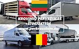 KROVINIU PERVEZIMAS / GABENIMAS / PERKRAUSTYMAS Lietuva -- Belgija -- Lietuva  Galime parvežti jūsų krovinius, baldus, buitine technika, motociklus, k