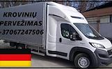 Krovinių pervežimas į Vokietiją DE-LT-DE Lietuva - Vokietija