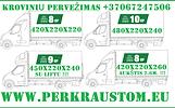 Krovinių pervežimas: iš Europos, į Europą.  Pilnų ir dalinių krovinių transportavimas : – Kasdienis krovinių surinkimas ir pristatymas. – Konkurencing