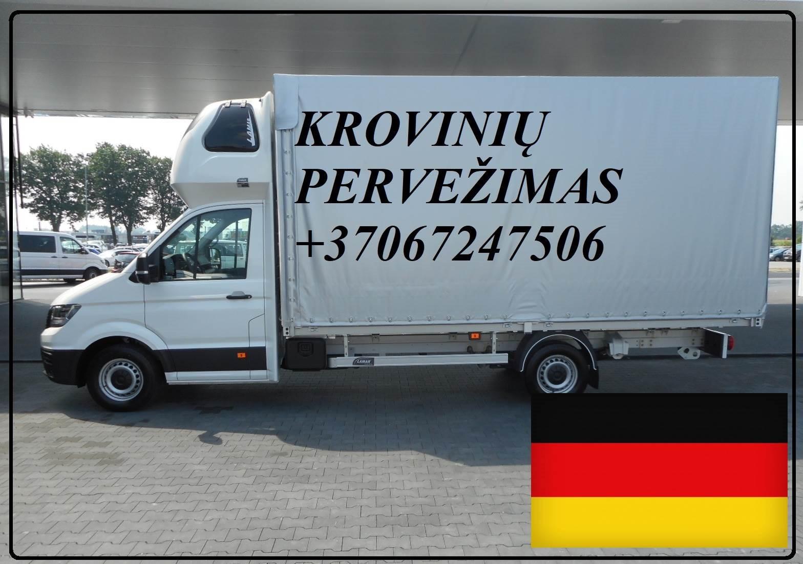 Krovinių pervežimas iš ir į Vokietiją DE-LT