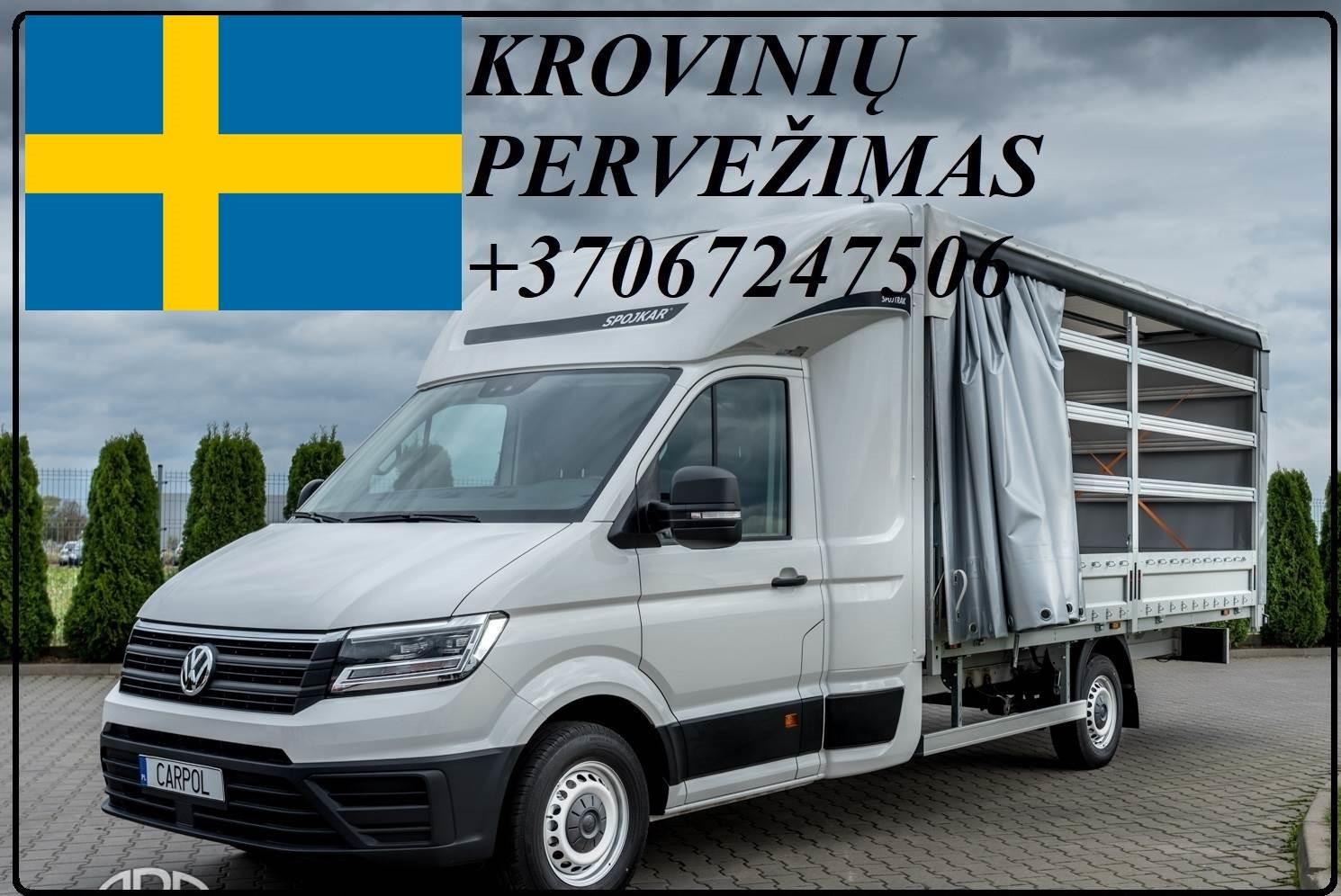 Krovinių Pervežimas iš Lietuvos į Švediją iš Svedijos į Lietuvą.