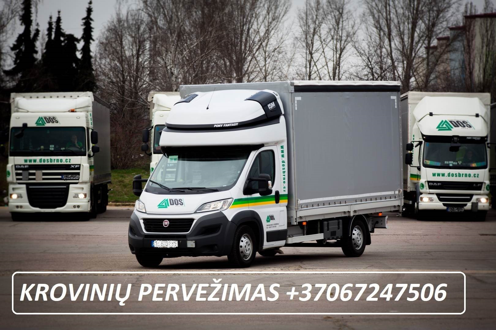 Krovinių pervežimas / krovinių gabenimas / skubus / greitas ! Pervežimo paslaugas teikiame tiek Lietuvoje tiek visoje Europos sąjungoje ir už jos ribų