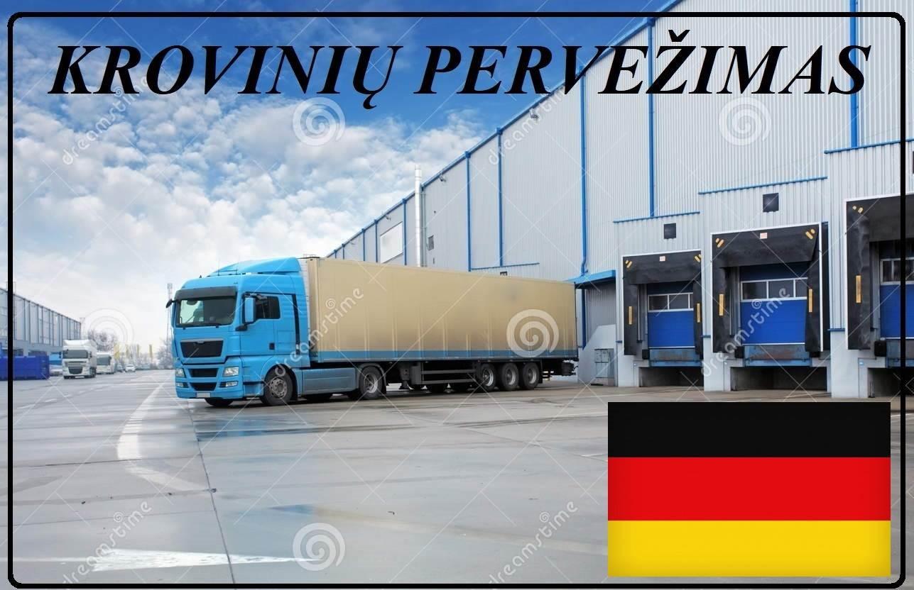 Krovinių Pervežimas Šaldytuvu Krovimo svoris iki 22000kg. ! iš / į Vokietija / Vokietijos / Vokietiją Galim pervežti įvairius krovinius Šaldytuvu . Ve