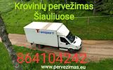Krovinių pervežimas Šiauliuose 864104242