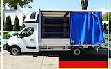 Krovinių Pervežimas tentiniu mikroautobusiuku Lietuva – Vokietija – Lietuva  ! Telpa 10 euro palečių iki 1200kg. Vežame krovinius, siuntas, baldus, įr