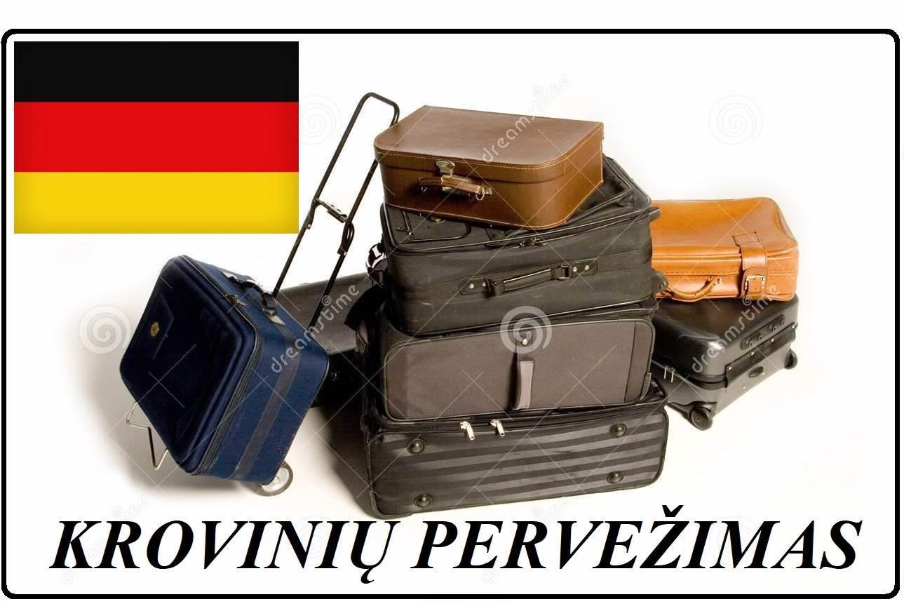Krovinių Pervežimas !  Vežame pilnus ir dalinius krovinius iš visos Vokietijos į visą Vokietiją. Tentinis busiukas 8 eur.pl. / 10 eur.pl. / kietašonis