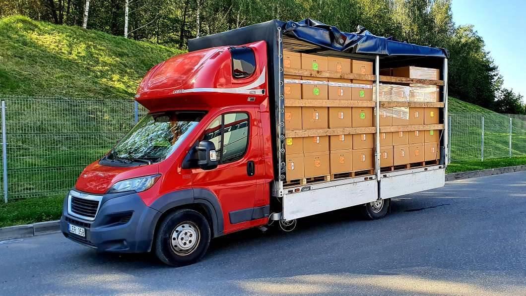 Kroviniu pervezimas visoje Lietuvoje ir Europoje.