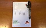 Kuro purkštukas Fiat-Ducato, Iveco-Daily . 0445120011