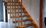Laiptai iš medžio namams
