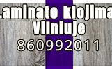 Laminato klojimas Vilniuje 860992011
