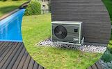 Lauko baseino įrengimas, šildymo įrangos montavimas