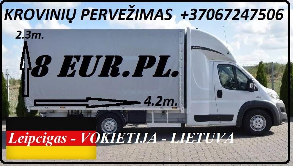 Leipcigas - Lietuva - Leipzig ! Greitai, atsakingai, patikimai ir geromis kainomis teikiame transporto paslaugas Lietuva - Vokietija / Germany - Lietu