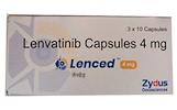 Lenced 4 mg   Zydus Lenvatinib 4 mg (Lenced kapsulė) Kaina