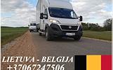LIETUVA - BELGIJA - LIETUVA ! EXPRESS KROVINIAI +37067247506, ALYTUS