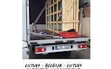 Lietuva - Belgija - Lietuva -- tentiniai krovininiai mikroautobusai kiekvieną savaitę.  Express paslauga - pristatymas per 24h. + Europa!  We offer 24
