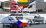 Lietuva -- Čekija -- Lietuva  // KROVINIU GABENIMAS / PERVEZIMAS / PERKRAUSTYMAS Galime parvežti jūsų krovinius, baldus, buitine technika, motociklus,