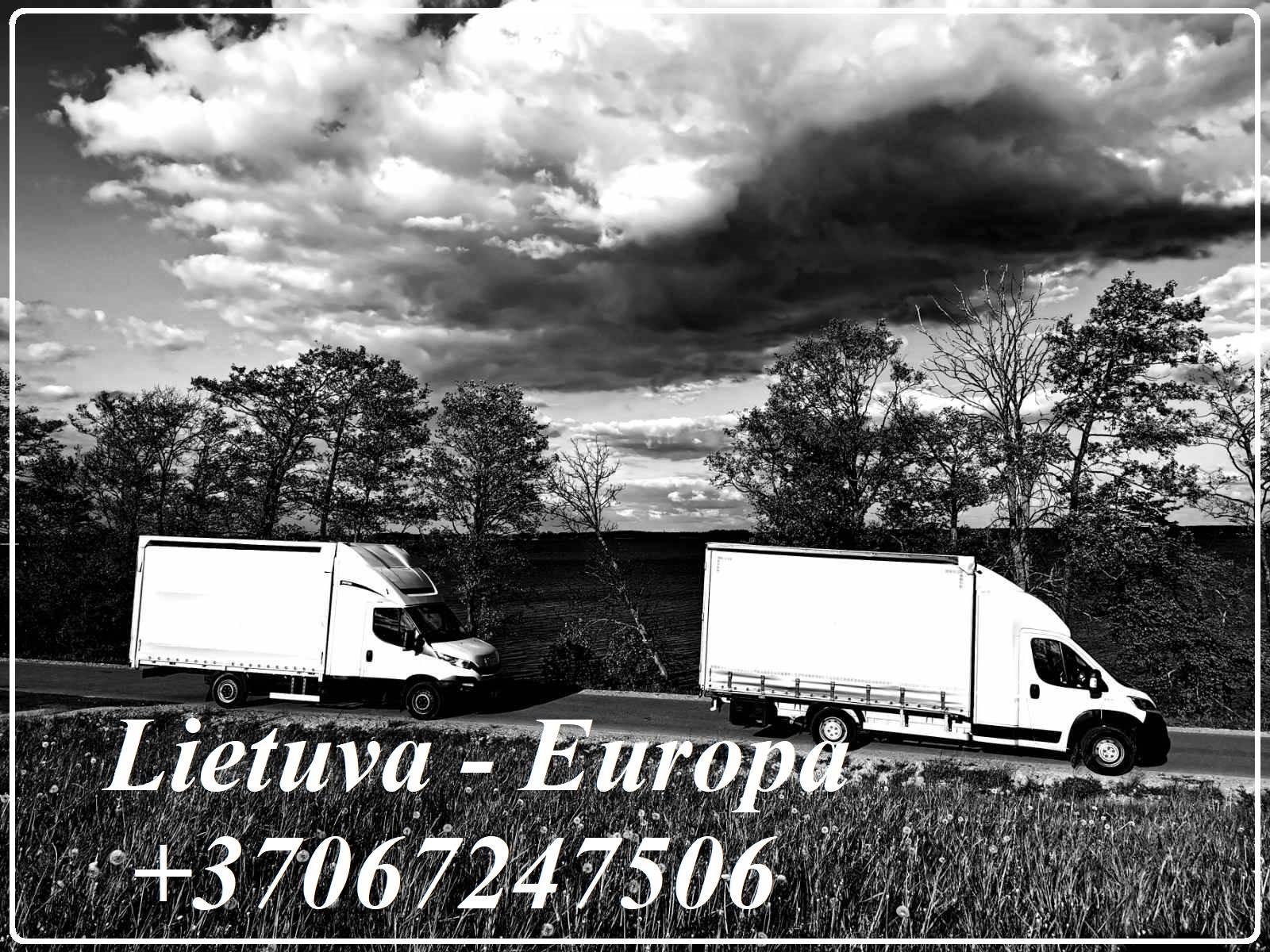 Lietuva - Europa - Lietuva ! 867247506 LT