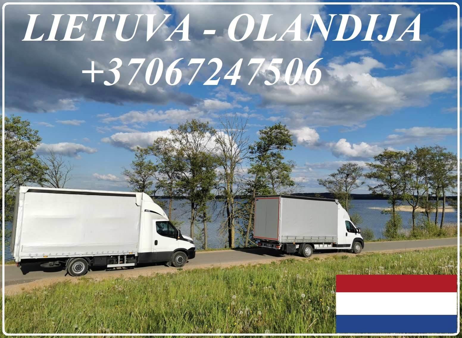 Lietuva - Olandija - Lietuva ! Express kroviniai +37067247506