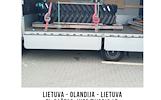 Lietuva - Olandija - Lietuva -- kiekvieną savaitę --tentiniai krovininiai mikroautobusai.  Express paslauga - pristatymas per 24h. + Europa!  We offer