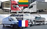 Lietuva -- Prancūzija -- Lietuva // KROVINIU PERVEZIMAS / PERKRAUSTYMAS / GABENIMAS Galime parvežti jūsų krovinius, baldus, buitine technika, motocikl