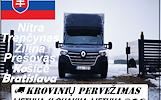 Lietuva -- Slovakija -- Lietuva SK  Galime parvežti jūsų krovinius, baldus, buitine technika, motociklus, kubilus, pirtis, įrengimus, medžiag