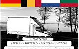 Lietuva- Vokietija - Olandija - Belgija - Lietuva ! Galime parvežti jūsų krovinius, baldus, buitine technika, motociklus, kubilus, pirtis, įrengimus,
