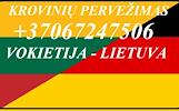 Lietuva - Vokietija šiandien / rytoj išvykstame su kroviniais. Vokietija / Lietuva / Vokietija ( Kroviniu Pervezimas ) . Šiandien / rytoj važiuojam į