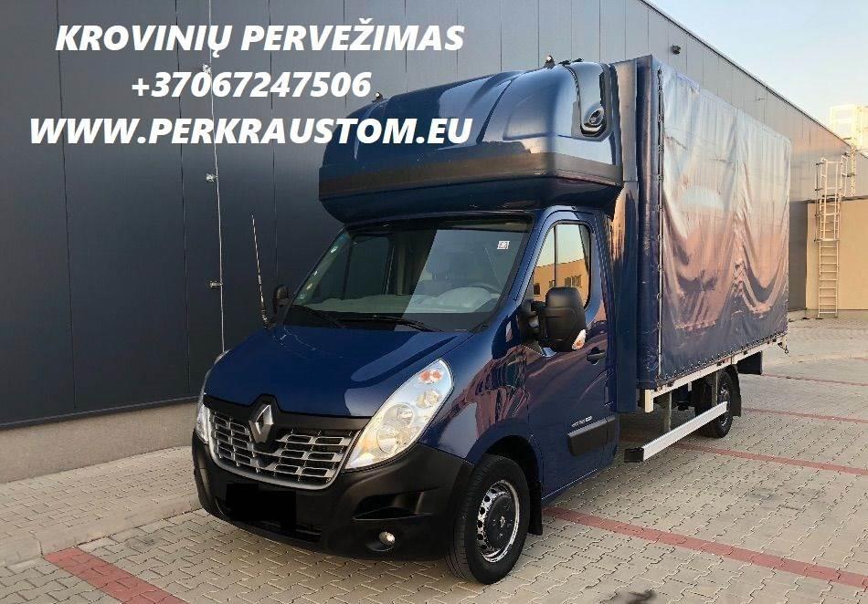 Lietuvoje, Europoje atliekame perkraustymo paslaugas. Jei norite persikraustyti, galite užsisakyti krovininį mikroautobusą, kuris saugiai ir greitai p