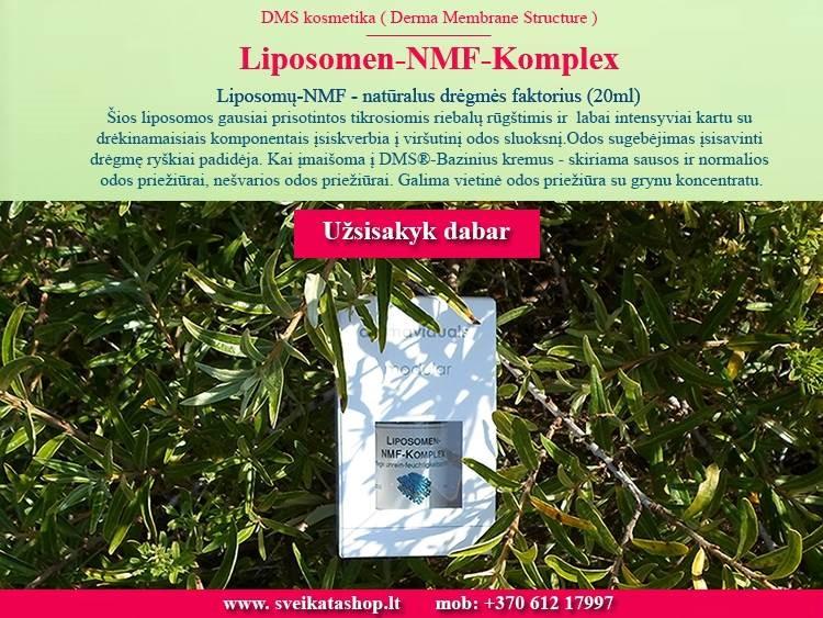 Liposomų-NMF Kompleksas 20 ml, kosmetika dermaviduals Vokietija - PIGIAU