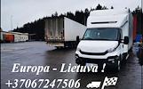 MENO KŪRINIŲ TRANSPORTAVIMAS LIETUVA-EUROPA-LIETUVA +37067247506 EXPRES pervežimai Lietuva - Europa - Lietuva EXPRES Kroviniai ypatingai svarbiems pri