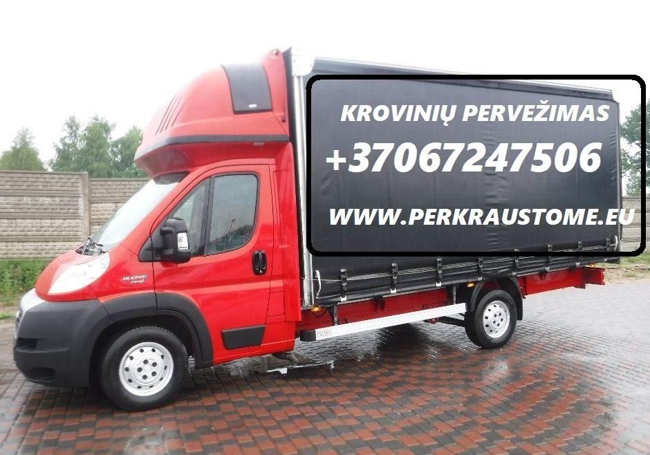 Mikroautobusais gabename sunkią ir jautrią kompiuterinę, serverinę įrangą, komutacines spintas. EL.PAŠTAS: info@voris.lt ; SKYPE: voris.uab TEL.NR.: +