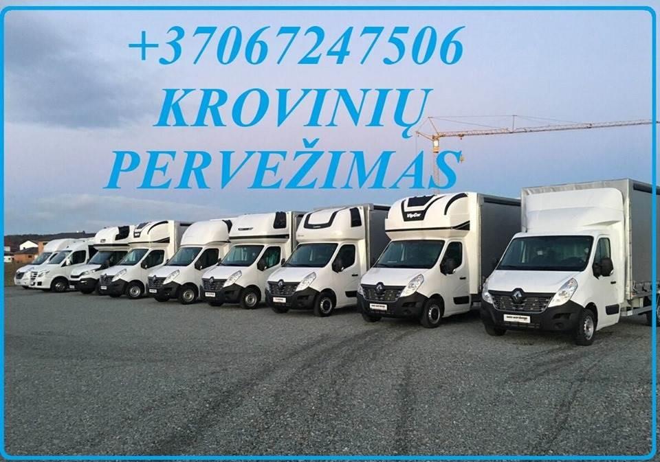 Mikroautobusu gabename įvairius krovinius iki 1,2 tonų; *vietiniai,tarptautiniai perkraustymai; *išvežiojame prekes po parduotuves; *gabename pilnus i