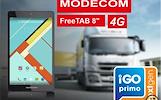 """MODECOM FREETAB 8015 8"""" 4G + NAVIGACIJA+TELEVIZIJA"""