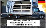 MOTO - Krovinių pervežimas -- PERKRAUSTYMAS -- VOKIETIJA-- Lietuva